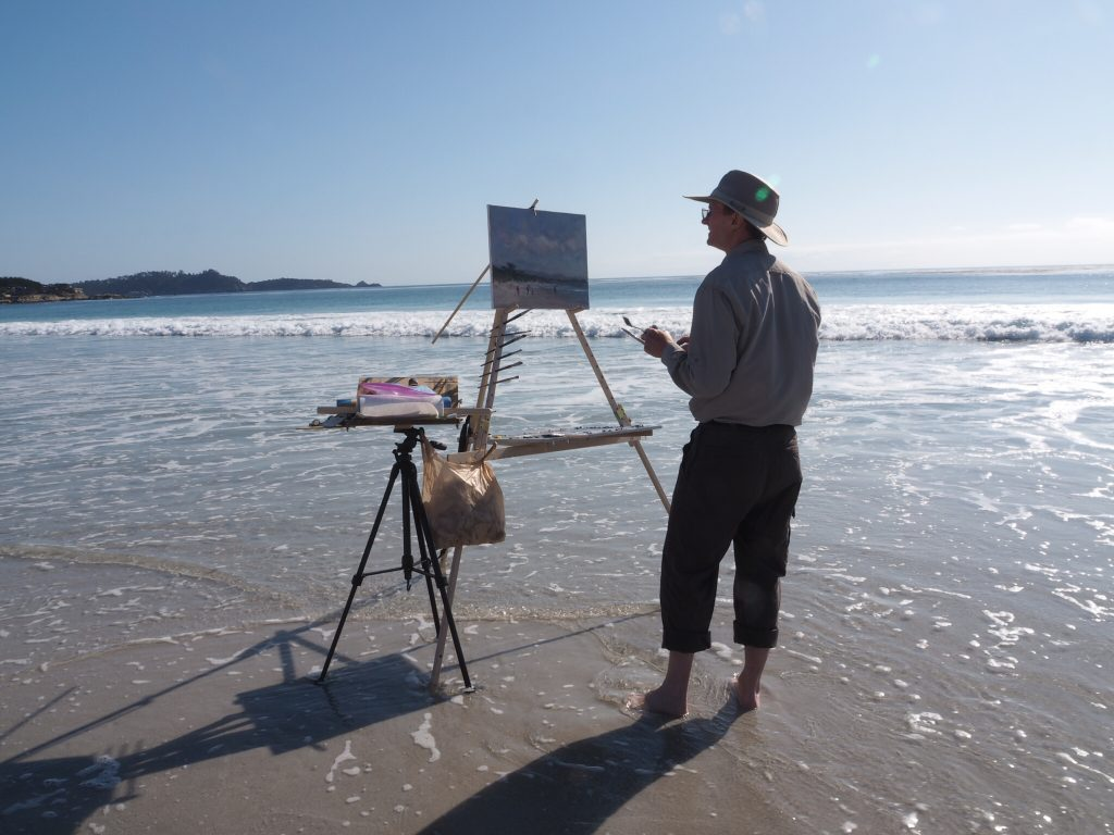 The Key To Fast Plein Air Painting - The Nine Step Alla Prima Painting Process 2