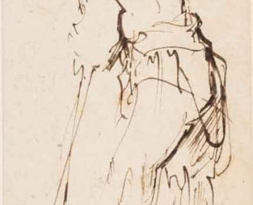 gesture drawing by Rembrandt
